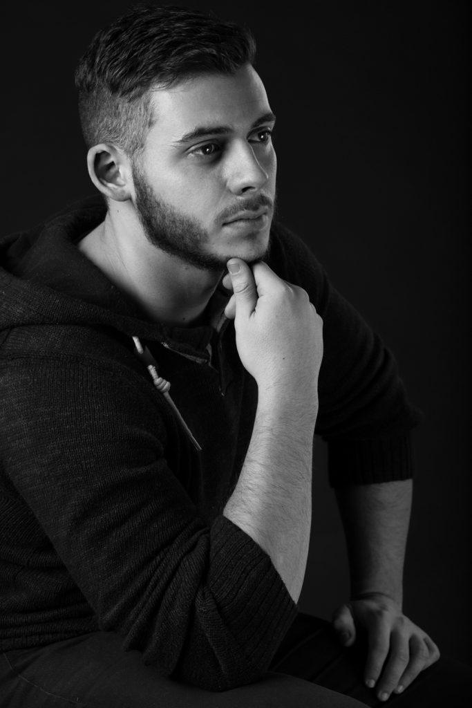 louis defer photographe blois - portrait studio