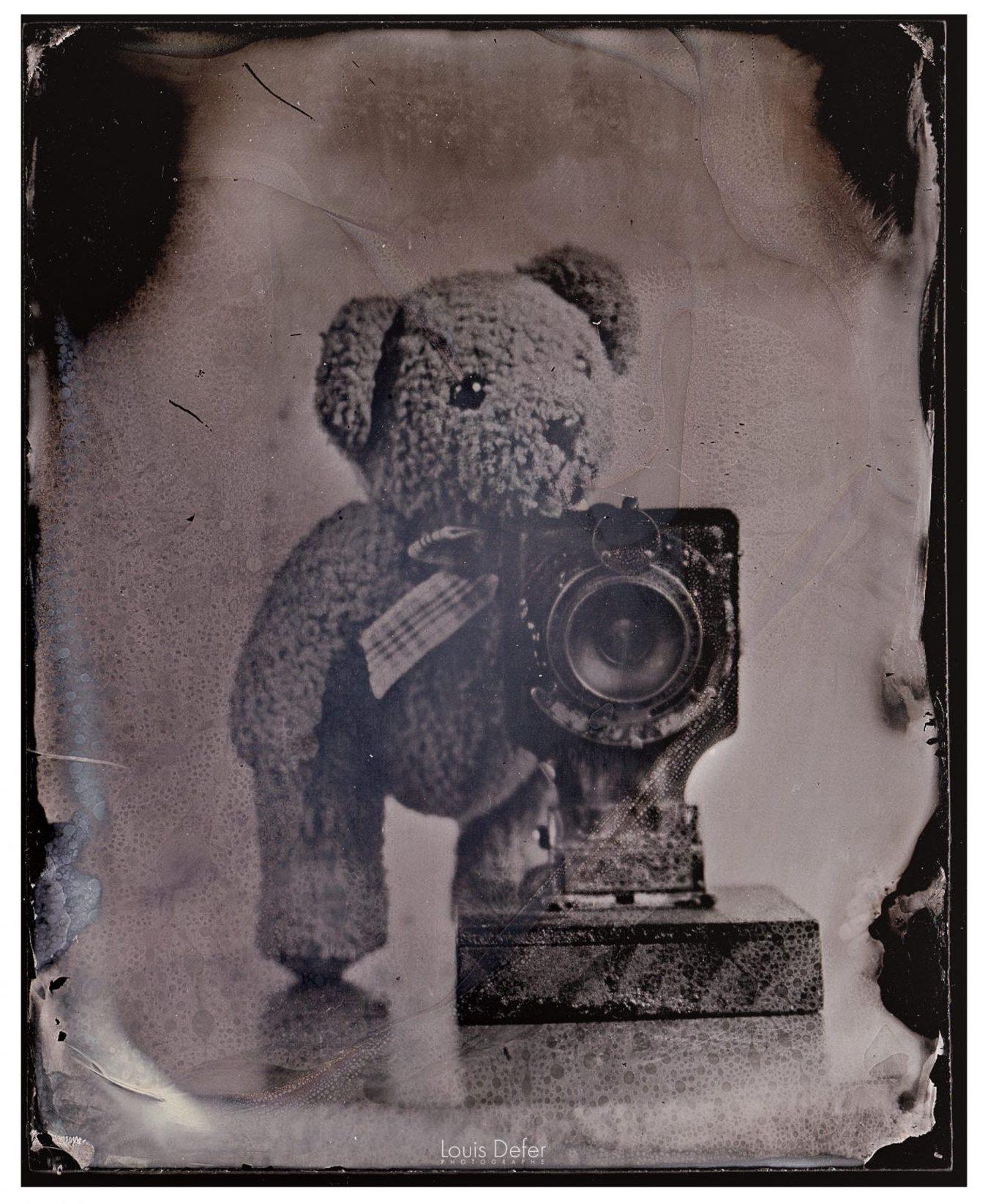 louis defer photographe blois collodion humide procédé argentique ancien